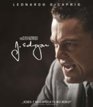 J. Edgar - Czech Blu-Ray cover (xs thumbnail)