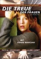 La fidélité - German DVD cover (xs thumbnail)