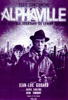 Alphaville, une étrange aventure de Lemmy Caution - French Movie Poster (xs thumbnail)