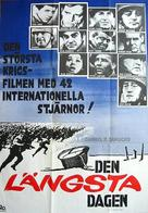 The Longest Day - Swedish Movie Poster (xs thumbnail)