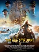 The Adventures of Tintin: The Secret of the Unicorn - German Movie Poster (xs thumbnail)