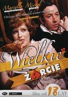 La grande bouffe - Polish DVD movie cover (xs thumbnail)