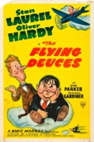 The Flying Deuces - Movie Poster (xs thumbnail)