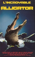 Alligator - French VHS cover (xs thumbnail)