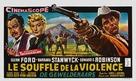 The Violent Men - Belgian Movie Poster (xs thumbnail)