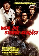 For Whom the Bell Tolls - German Movie Poster (xs thumbnail)