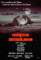 Dead & Buried - Spanish Movie Poster (xs thumbnail)