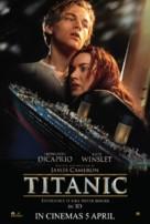 Titanic - Malaysian Movie Poster (xs thumbnail)