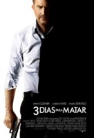 3 Days to Kill - Brazilian Movie Poster (xs thumbnail)