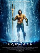 Aquaman - French Movie Poster (xs thumbnail)