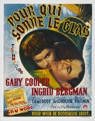 For Whom the Bell Tolls - Belgian Movie Poster (xs thumbnail)