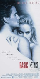 Basic Instinct - Australian Movie Poster (xs thumbnail)