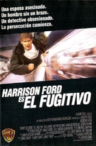The Fugitive - Argentinian Movie Poster (xs thumbnail)