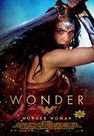 Wonder Woman - Turkish Movie Poster (xs thumbnail)