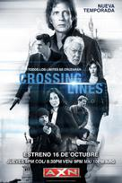 """Crossing Lines"" - Colombian Movie Poster (xs thumbnail)"