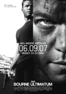 The Bourne Ultimatum - German poster (xs thumbnail)