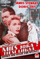 The Man Who Knew Too Much - Finnish Movie Poster (xs thumbnail)