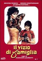 Il vizio di famiglia - Italian DVD movie cover (xs thumbnail)