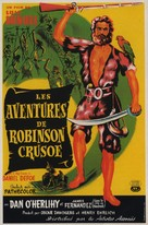 Robinson Crusoe - French Movie Poster (xs thumbnail)