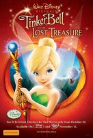 Tinker Bell and the Lost Treasure - Australian Movie Poster (xs thumbnail)