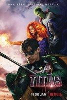 Titans - Brazilian Movie Poster (xs thumbnail)