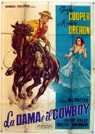 The Cowboy and the Lady - Italian Movie Poster (xs thumbnail)