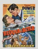 Crash Dive - Belgian Movie Poster (xs thumbnail)
