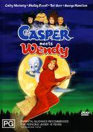 Casper Meets Wendy - Australian DVD cover (xs thumbnail)