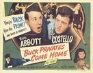 Buck Privates Come Home - British Movie Poster (xs thumbnail)