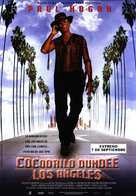 Crocodile Dundee in Los Angeles - Spanish Movie Poster (xs thumbnail)