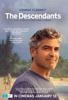 The Descendants - Australian Movie Poster (xs thumbnail)