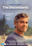 The Descendants - Australian Movie Poster (xs thumbnail)