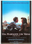 A Room with a View - Spanish Movie Poster (xs thumbnail)