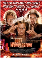 The Incredible Burt Wonderstone - British Movie Poster (xs thumbnail)