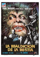 La maldición de la bestia - Spanish Movie Cover (xs thumbnail)