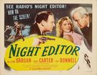 Night Editor - Movie Poster (xs thumbnail)
