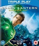 Green Lantern - British Blu-Ray movie cover (xs thumbnail)