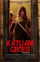 You're Next - Turkish Movie Poster (xs thumbnail)