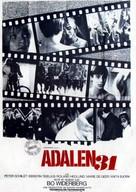 Ådalen '31 - French Movie Poster (xs thumbnail)