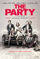 The Party - Belgian Movie Poster (xs thumbnail)