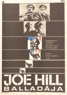 Joe Hill - Hungarian Movie Poster (xs thumbnail)