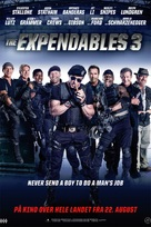 The Expendables 3 - Norwegian Movie Poster (xs thumbnail)