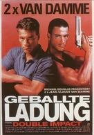 Double Impact - German Movie Poster (xs thumbnail)