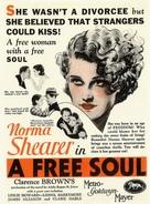 A Free Soul - Movie Poster (xs thumbnail)