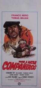 Vamos a matar, compañeros - Italian Movie Poster (xs thumbnail)