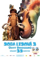 Ice Age: Dawn of the Dinosaurs - Czech Movie Poster (xs thumbnail)