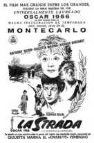 La strada - Spanish poster (xs thumbnail)