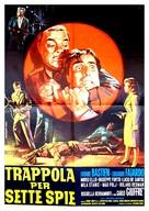 Trappola per sette spie - Italian Movie Poster (xs thumbnail)