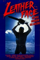 Leatherface: Texas Chainsaw Massacre III - German Movie Poster (xs thumbnail)