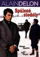 Les granges brulées - Czech DVD cover (xs thumbnail)